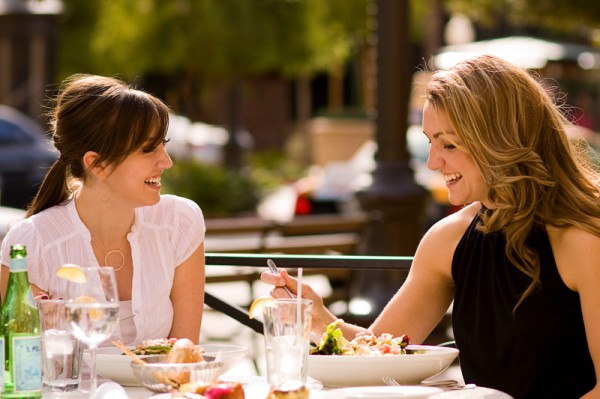 Last minute Christmas shopping:  Get lunch with a friend instead!