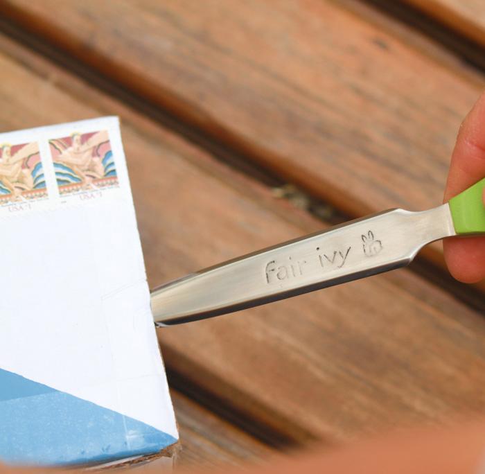 Handmade letter opener (Fair Ivy)