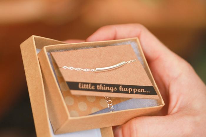 Handmade silver tube bracelet