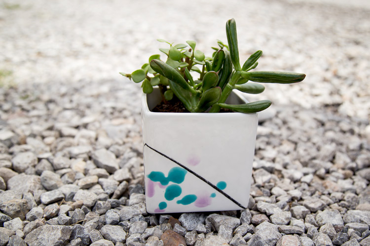 Ceramic planter {The Rosemary subscription}