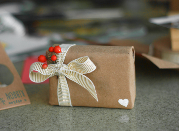 Organic creative gift wrapping from Fair Ivy founder Lucy Fairweather