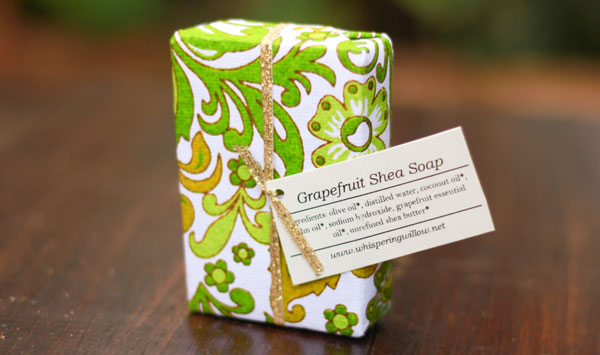 Creative gift wrap from fair ivy