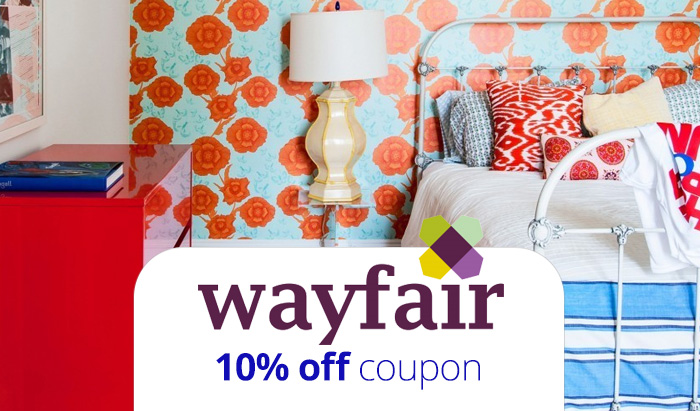 wayfair coupon code how to get 10 off in 2018. Black Bedroom Furniture Sets. Home Design Ideas