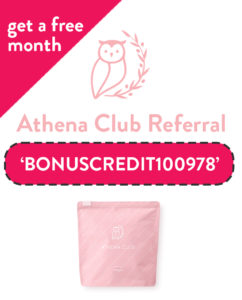 Athena Club Referral Code | Free month with code: BONUSCREDIT100978