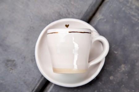 handmade coffee cup