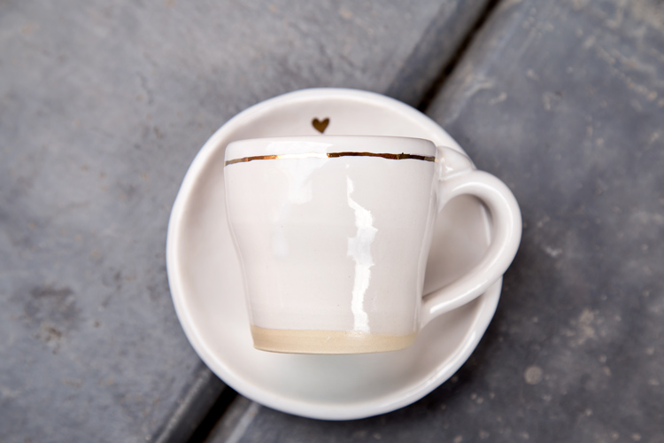 handmade coffee cup