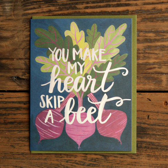 Handmade letterpress card: Lovely handmade gift ideas from Fair Ivy
