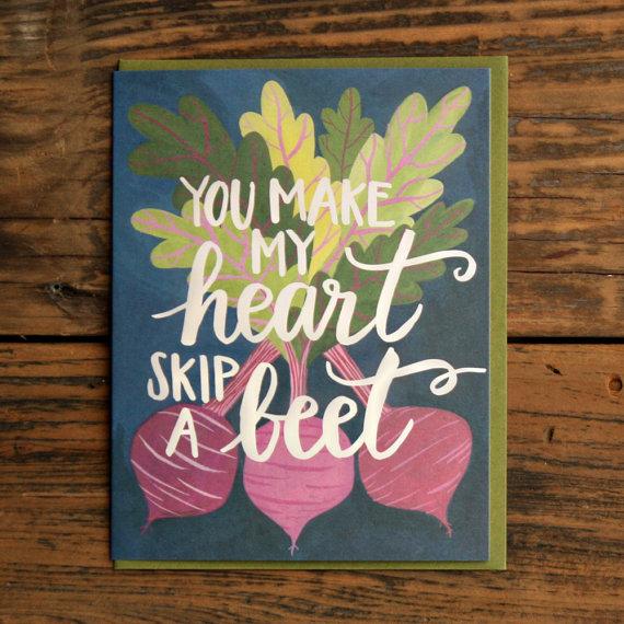 Handmade letterpress card: Lovely handmade gift ideas from Fair Ivy