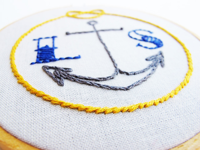 Cute embroidery patterns - cross-stitch designs