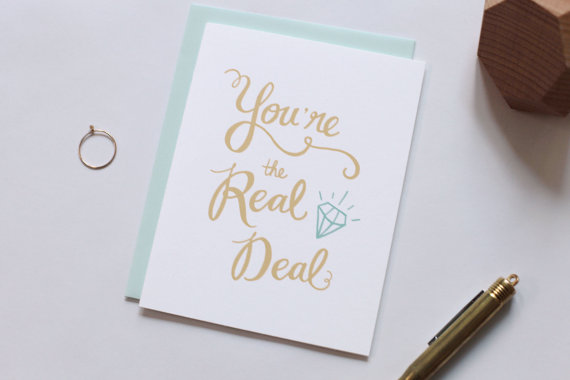 Custom typography design, cute greeting cards