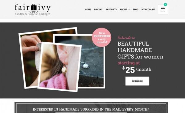 Fair ivy website new design