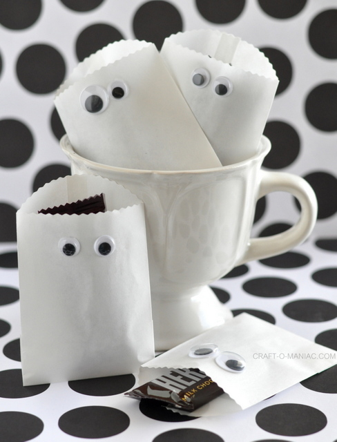 DIY Halloween Candy Bags