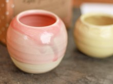 Handmade ceramic pot from fairivy.com