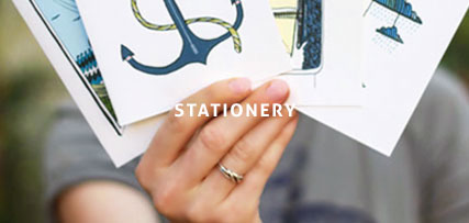 Handmade stationery - handwrapped surprise gift every month